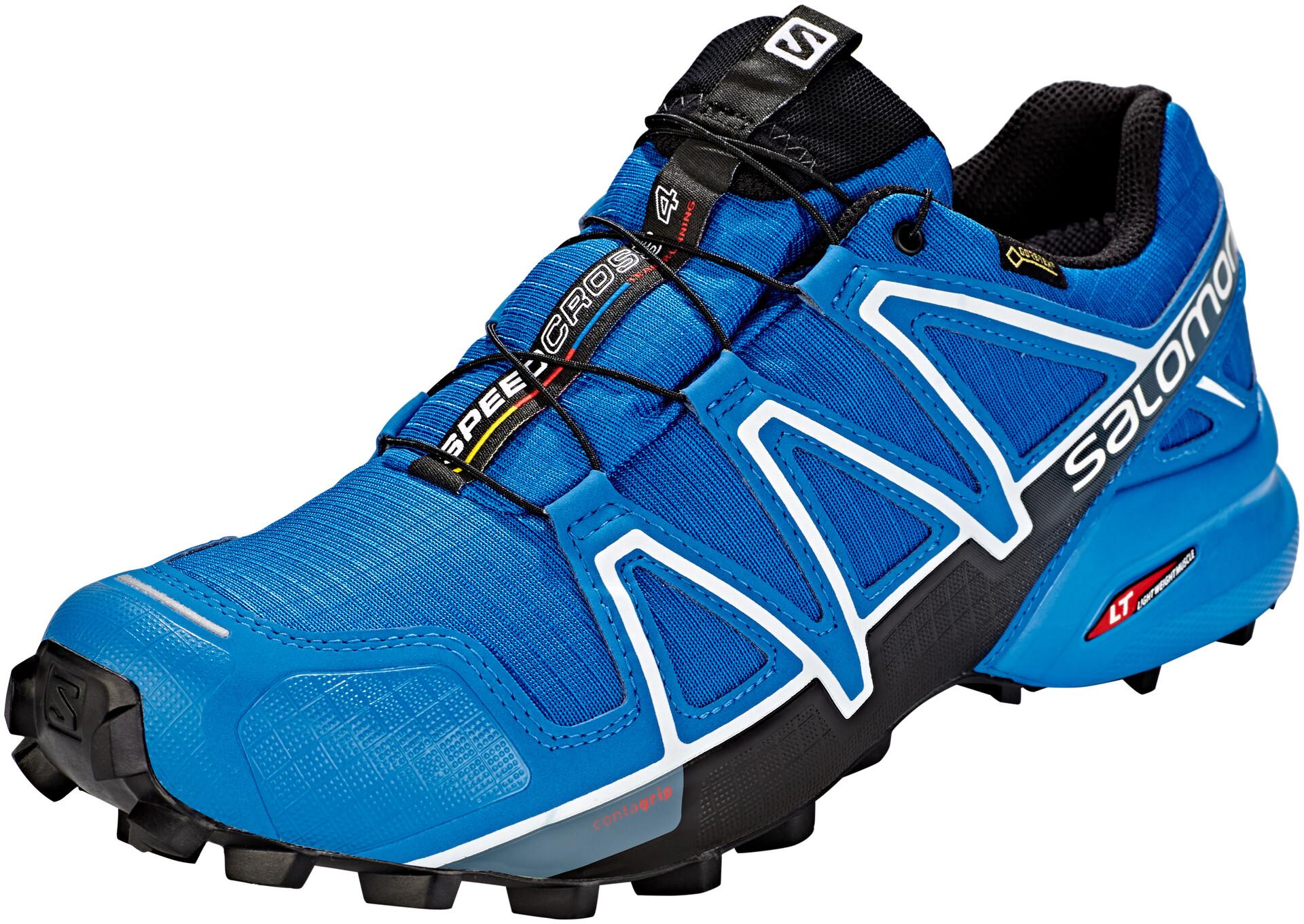 Salomon Speedcross 4 GTX Schoenen Heren, sky diver/indigo bunting/black